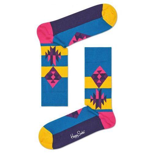 Happy socks inca 2010 skarpetki niebieski 36-40
