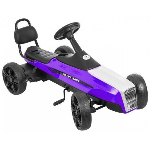 Kidzmotion Gokart na pedały kidz motion retro jeździk dla dzieci 5-12 lat fioletowy + darmowy transport! (5906395302949)