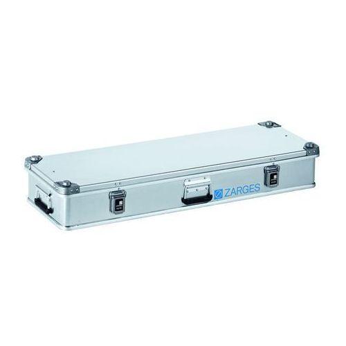 Zarges Aluminiowa skrzynka transportowa, poj. 60 l, dł. x szer. x wys. wewn. 1150x350x1