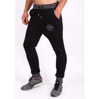 Męskie spodnie sportowe POPULAR BLACK