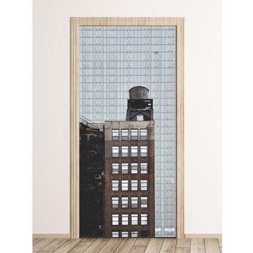 Fototapeta na drzwi architektura w nowym jorku fp 6052