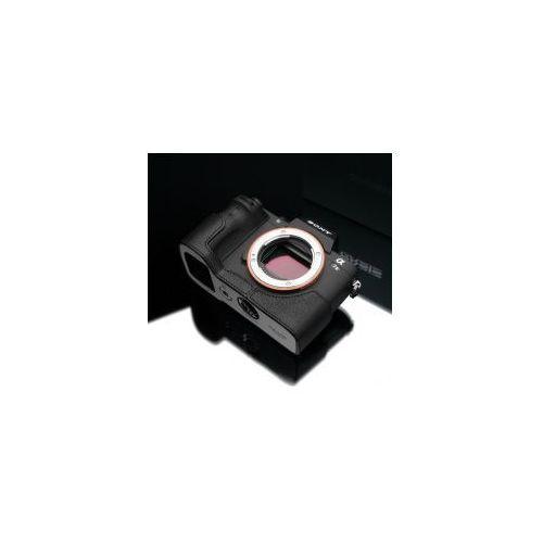 Halfcase z naturalnej skóry w kolorze czarnym dedykowany do Sony A7II, A7RII, XS-CHA7IIBK