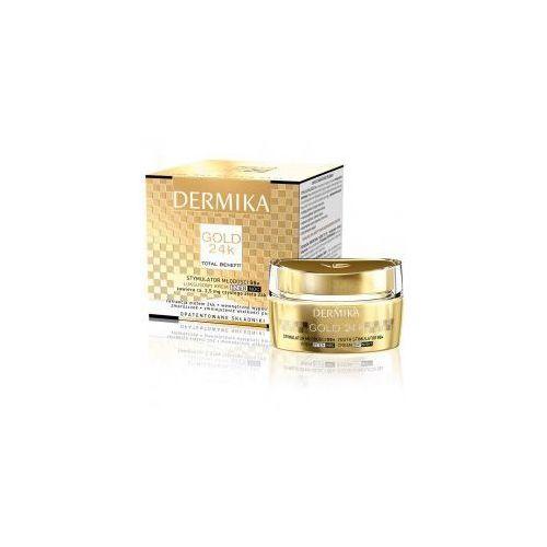 Dermika Gold 24K TB, Stymulator Młodości 55+, luksusowy krem dzień/noc, 50ml