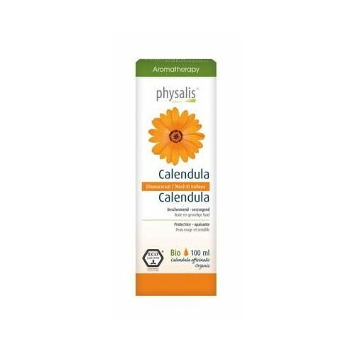 Olejek do twarzy i ciała nagietek lekarski (calendula) ECO 100 ml - Physalis