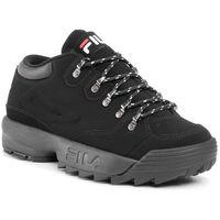 Sneakersy FILA - Disruptor Hiker Low 1010708.12V Black/Black, kolor czarny