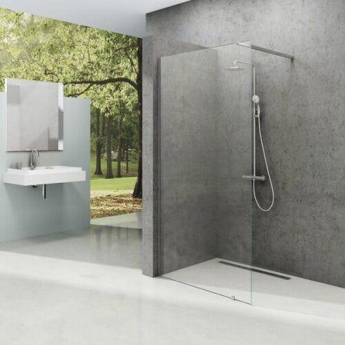 RAVAK ścianka wolnostojąca Walk In Wall 110/200 h Polerowane aluminium + Transparent GW9WD0C00Z1, GW9WD0C00Z1