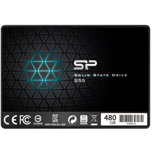 Dysk SSD Silicon Power SLIM S55 480GB SATA3 (SP480GBSS3S55S25) Darmowy odbiór w 20 miastach!, 455864
