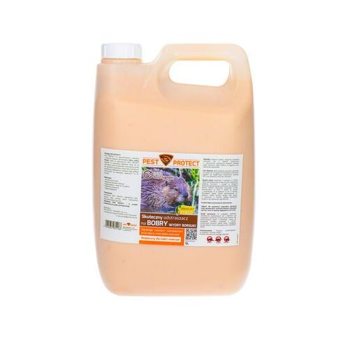 Środek na bobry. Preparat odstraszający Pest Protect płyn 5l. (5904067031166)