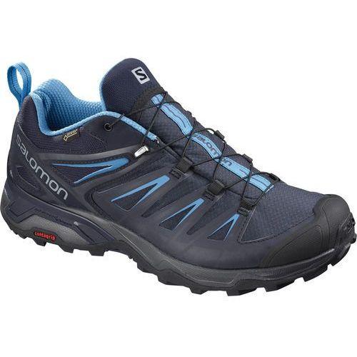 Salomon x ultra 3 gtx buty mężczyźni niebieski uk 9,5 | eu 44 2018 buty turystyczne