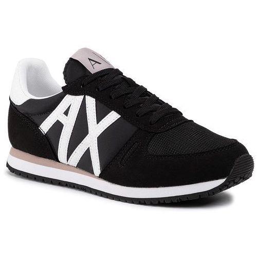 Armani exchange Sneakersy - xdx031 xv308 a120 black/white