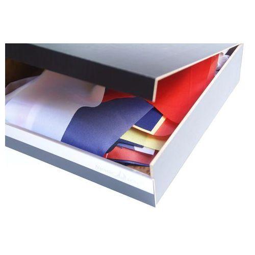 Nauticdecor Flagi kodu sygnałowego, gala banderowa, code of signals flags w eleganckim drewnianym pudełku prezentowym