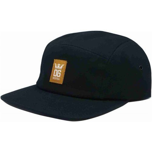 czapka z daszkiem SUPRA - Og Crown 5 Panel Hat Black-Tan-Bon (033)