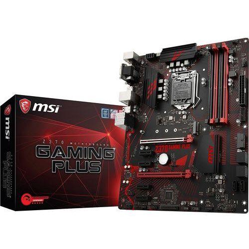 Msi Płyta z370 gaming plus /z370/ddr4/sata3/usb3.0/pcie3.1/s.1151/atx (4719072540425)