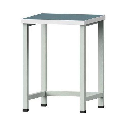 Anke werkbänke - anton kessel Kompaktowy stół warsztatowy, blat uniwersalny,szer. 605 mm, bez szafek dolnych