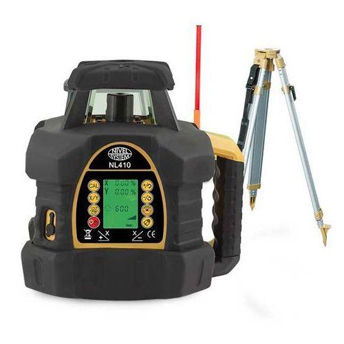 Niwelator laserowy Nivel System NL410G (+ statyw + łata)