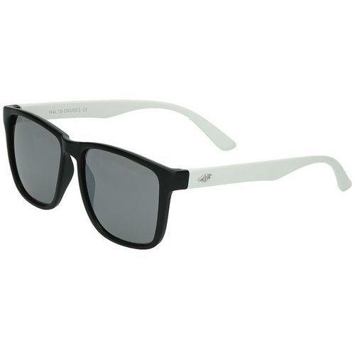 Sportowe okulary przeciwsłoneczne h4l18-oku003 czarny-biały marki 4f