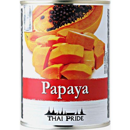 Papaja lekko slodzona w syropie marki Thai pride