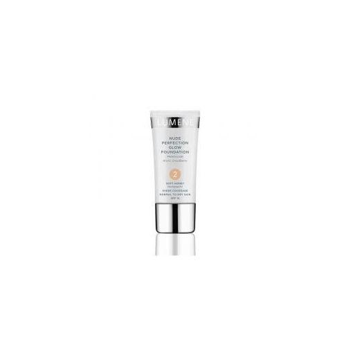 , nude perfection glow foundation, perfekcyjny podkład nawilżająco-rozświetlający, 30ml marki Lumene