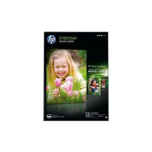 Papier fotograficzny HP Everyday, błyszczący – 100 arkuszy/A4/210 x 297 mm Q2510A