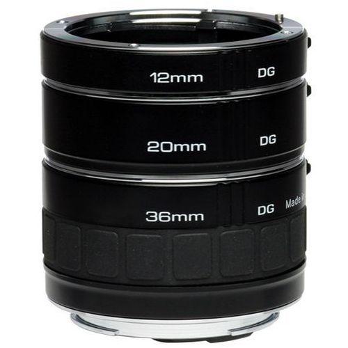 Kenko DG Auto Extension Tube Set zestaw pierścieni pośrednich / Canon EF - produkt z kategorii- Tuleje i pierścienie redukcyjne