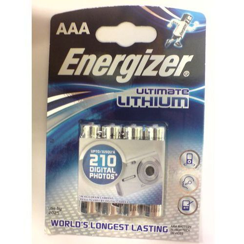 Baterie aaa ultimate lithium marki Energizer