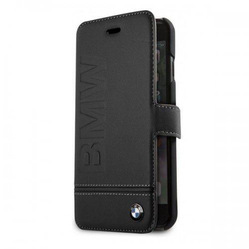 Futerał Book BMW iPhone X czarny BMFLBKPXLLSB, kolor czarny