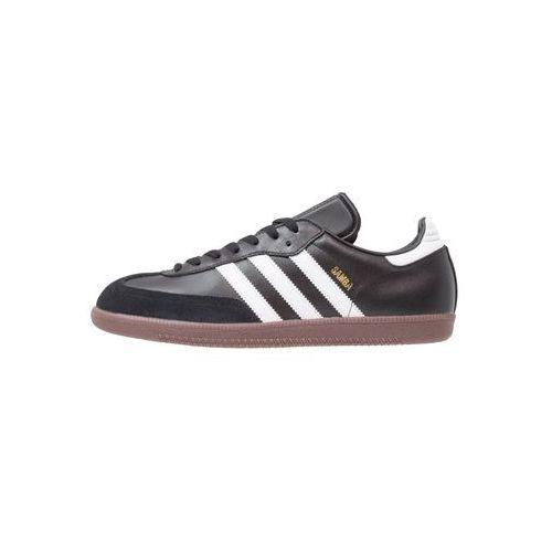 adidas Performance SAMBA Tenisówki i Trampki black/run white, kolor czarny