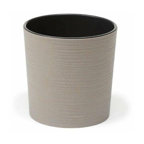 Doniczka plastikowa 30 cm szara MALWA