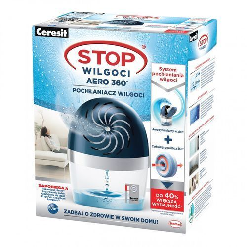 Henkel Pochłaniacz wilgoci metylan stop aero niebieski 450g.1807168 -. (5997272386992)