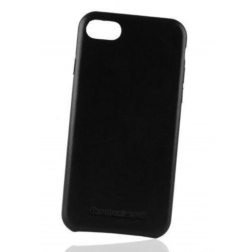 Cienkie Skórzane Plecki dbramante1928 Roskilde iPhone 7 - Czarne (5711428007506)