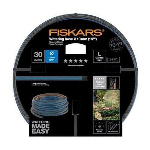 Wąż ogrodowy Fiskars 1/2 30 m Q5 (6411501511331)