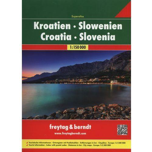 Atlas Chorwacja Słowenia 1:150 000 - Praca zbiorowa, praca zbiorowa