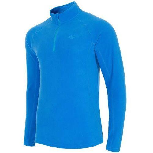 Męski polar bluza h4z18 bimp001 33s niebieski xl marki 4f