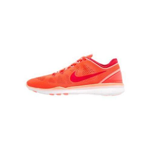 Nike Free 5.0 TR Fit 5 But do biegania naturalnego Kobiety pomar 40 Buty szosowe, kolor czerwony