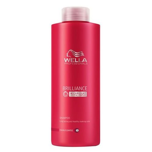 Wella  professionals brilliance coarse shampoo (1000ml) (worth £38.80)