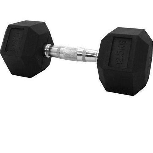 Stayer-sport Hantla gumowana stała hex 12,5kg stayer sport - 12,5 kg (5907692009005)