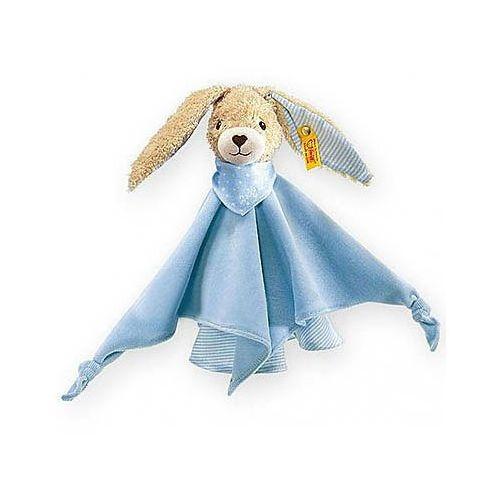szmacianka/przytulanka zajączek hoppel 28 cm kolor niebieski marki Steiff