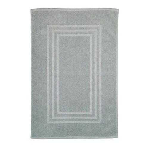 Cooke&lewis Dywanik łazienkowy palmi bawełniany 60 x 90 cm srebrny (3663602965503)