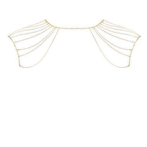 Bijoux indiscrets (sp) Łańcuszek na plecy bijoux indiscrets magnifique (złoty) (8436562010768)