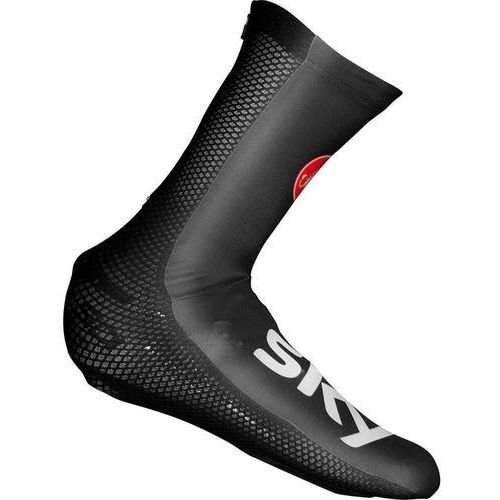 Castelli Team Sky Aero Race TT Osłona na but czarny L   43-44 2018 Ochraniacze na buty i getry (8055688636005)
