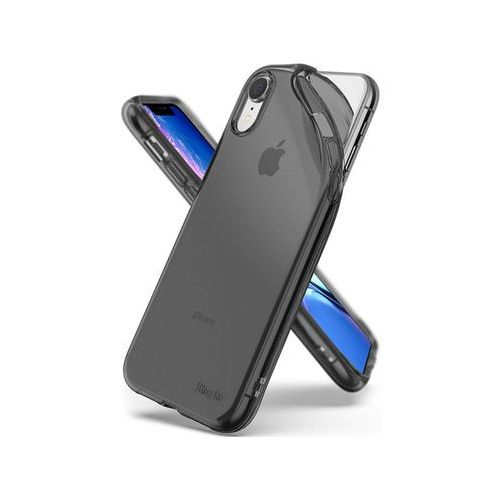 Etui Ringke Air do Apple iPhone XR 6,1 Smoke Black - Czarny (8809628562516)