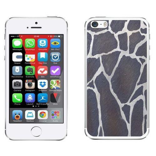Zolti Apple iphone 5 / 5s / se - etui na telefon - kolekcja kamień - szary kamień - d25 - szary kamień