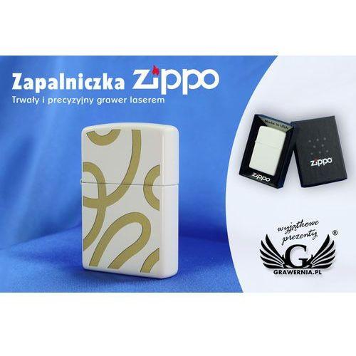 Zapalniczka regular white matte marki Zippo
