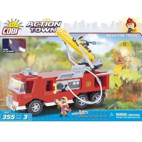Action Town Duży wóz strażacki 355 ELEMENTÓW