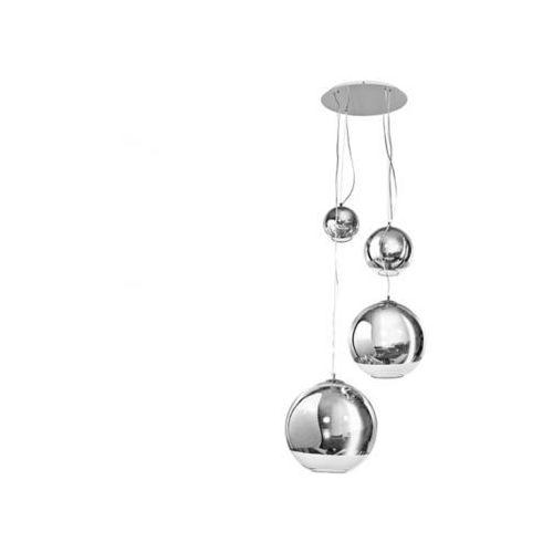ŻARÓWKI LED GRATIS! Lampa wisząca Silver Ball 4 3873-4P AZzardo - sprawdź w wybranym sklepie
