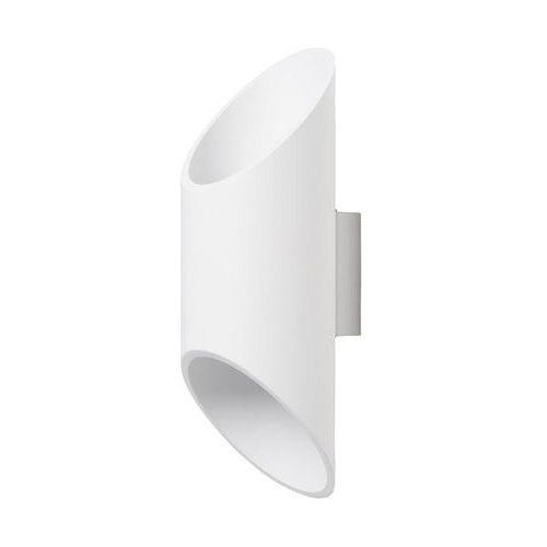 Lampex Kinkiet wera biały 593/k bia - - sprawdź kupon rabatowy w koszyku (5902622113760)