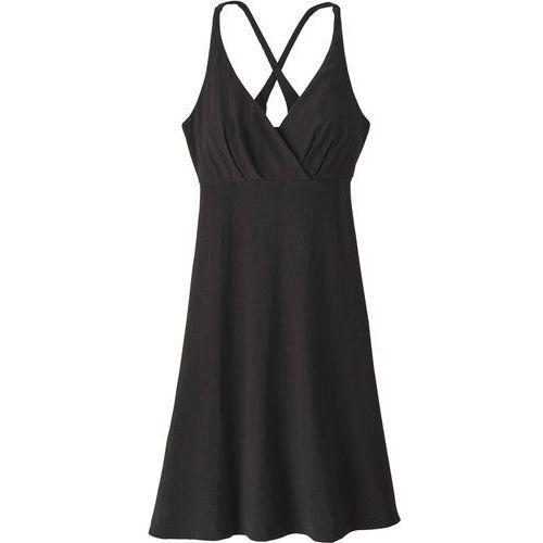 Patagonia AMBER DAWN Sukienka sportowa black, kolor czarny