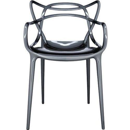 Krzesło Masters metalizowane tytanowe