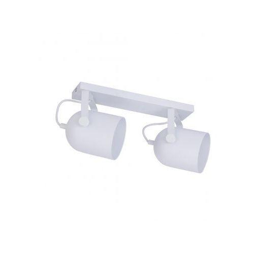 Tklighting Plafon oprawa sufitowa tk lighting spectra white 2x60w e27 biały 2604 (5901780526047)