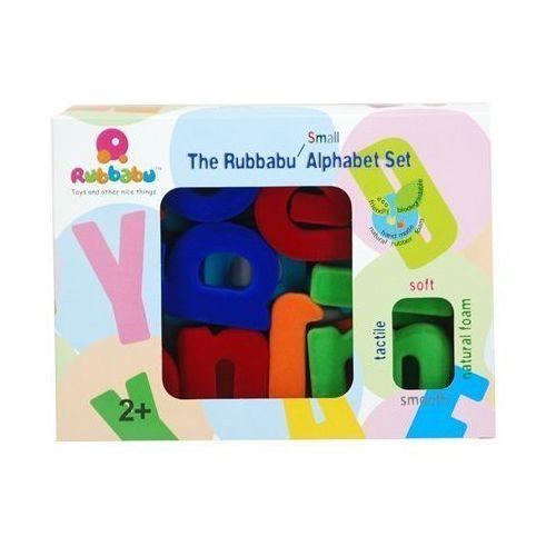 Alfabet małe litery - zestaw mały marki Rubbabu